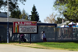 Photo: KI Jones school, where my little brothers went to school and I attended Scout meetings