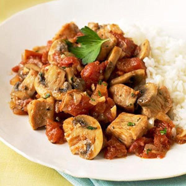 Slow-cooked Pork Cacciatore Recipe
