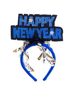 Diadem, Happy New Year blå