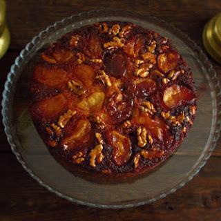 Pippin Apple Walnut Cake