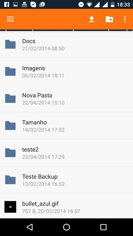 Terra Backup- screenshot