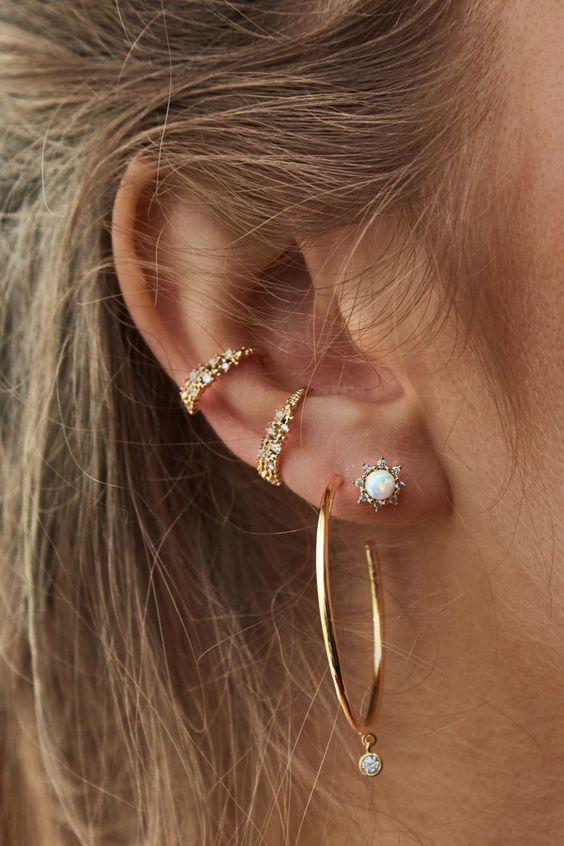 Tipos de ear cuff: conheça mais sobre cada modelo 2