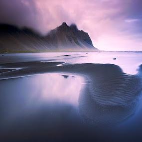 Stockness by Boris Michaliček - Landscapes Beaches ( iceland, mountain, see, stockness, beach )