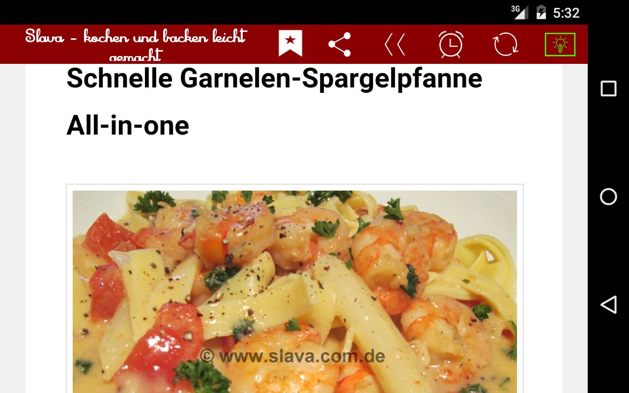 Kochen Und Backen App slava kochen und backen android apps auf play