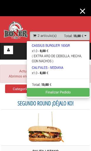 Boxer Food screenshot 4