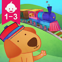 Animal Train for Toddlers icon
