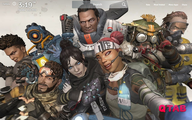 Apex Legends Wallpapers Theme Game New Tab