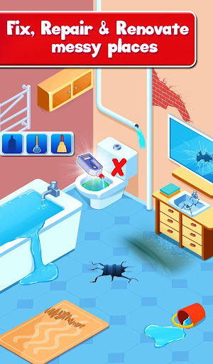 Fix It - Repair and Renovate Your Dream Home android2mod screenshots 1
