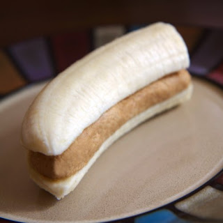 High-Protein Banana and PB Snack.