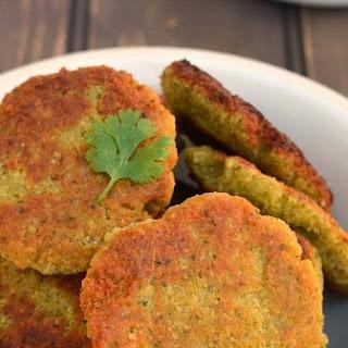 Falafel (Eggless, Lower fat recipe)
