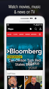 Flipps – Movies, Music & News Screenshot