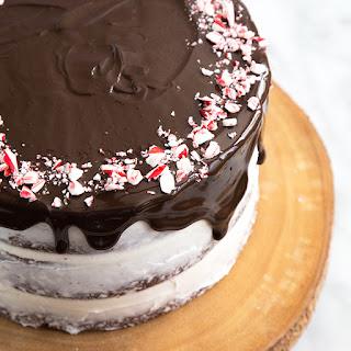 Chocolate Peppermint Cake.