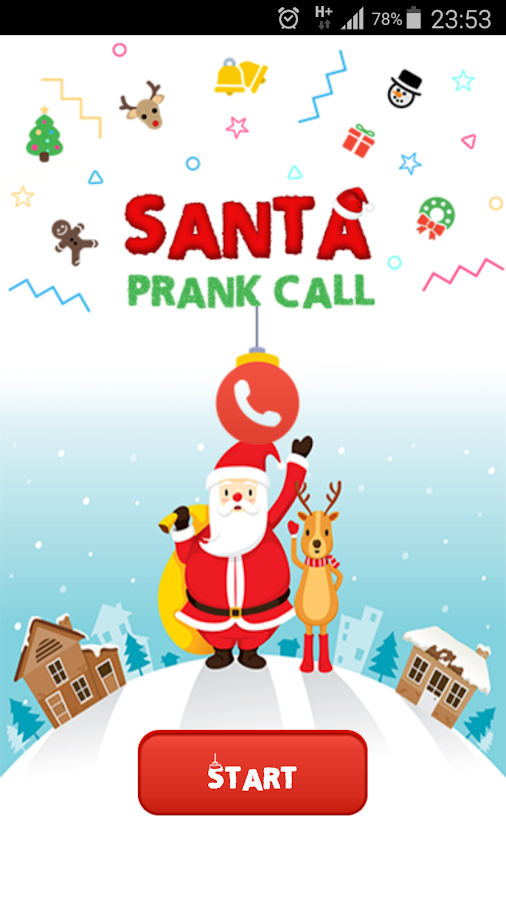 Santa Prank Call- screenshot