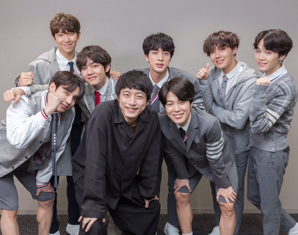 kentaro and bts
