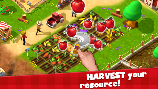 Happy Town Farm: Farming Games & City Building 0.21.2 de.gamequotes.net 2
