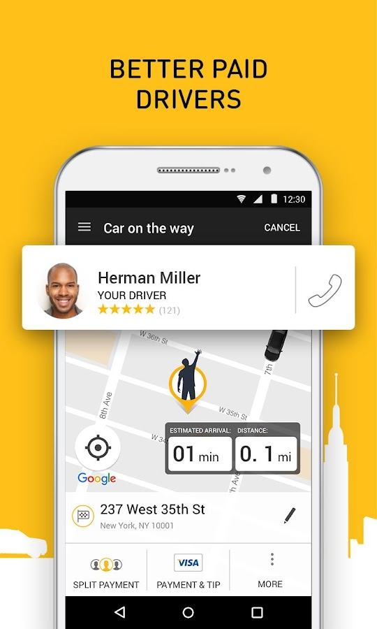 Gett - Car Service & Rideshare- screenshot