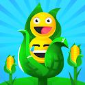 Emoji Farm 😂 - Idle Tycoon Farming Simulator icon