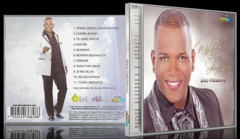 Willy García - Sigo Presente (2011) [MP3 @320 Kbps]