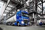 tanktransportwagen vóór moderne installatie van buizen