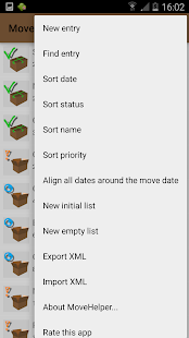 MoveHelper: Organize your Move- screenshot thumbnail