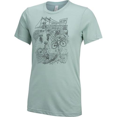 All-City 10th Anniversary Men's T-Shirt: Blue