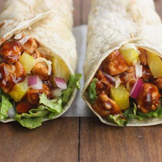 Hawaiian BBQ Chicken Wraps Recipe