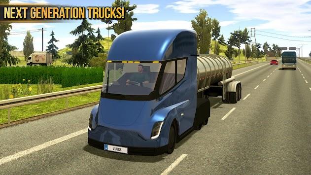 Truck Simulator 2018 : Europe APK screenshot thumbnail 12