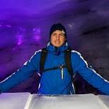 Titlis Engelberg Glacier Cave in Engelberg, Obwalden, Switzerland