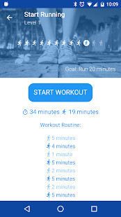 Start Running. Couch to 5K- screenshot thumbnail