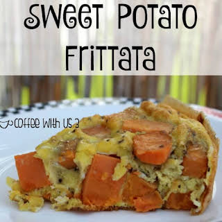 Sweet Potato Frittata.