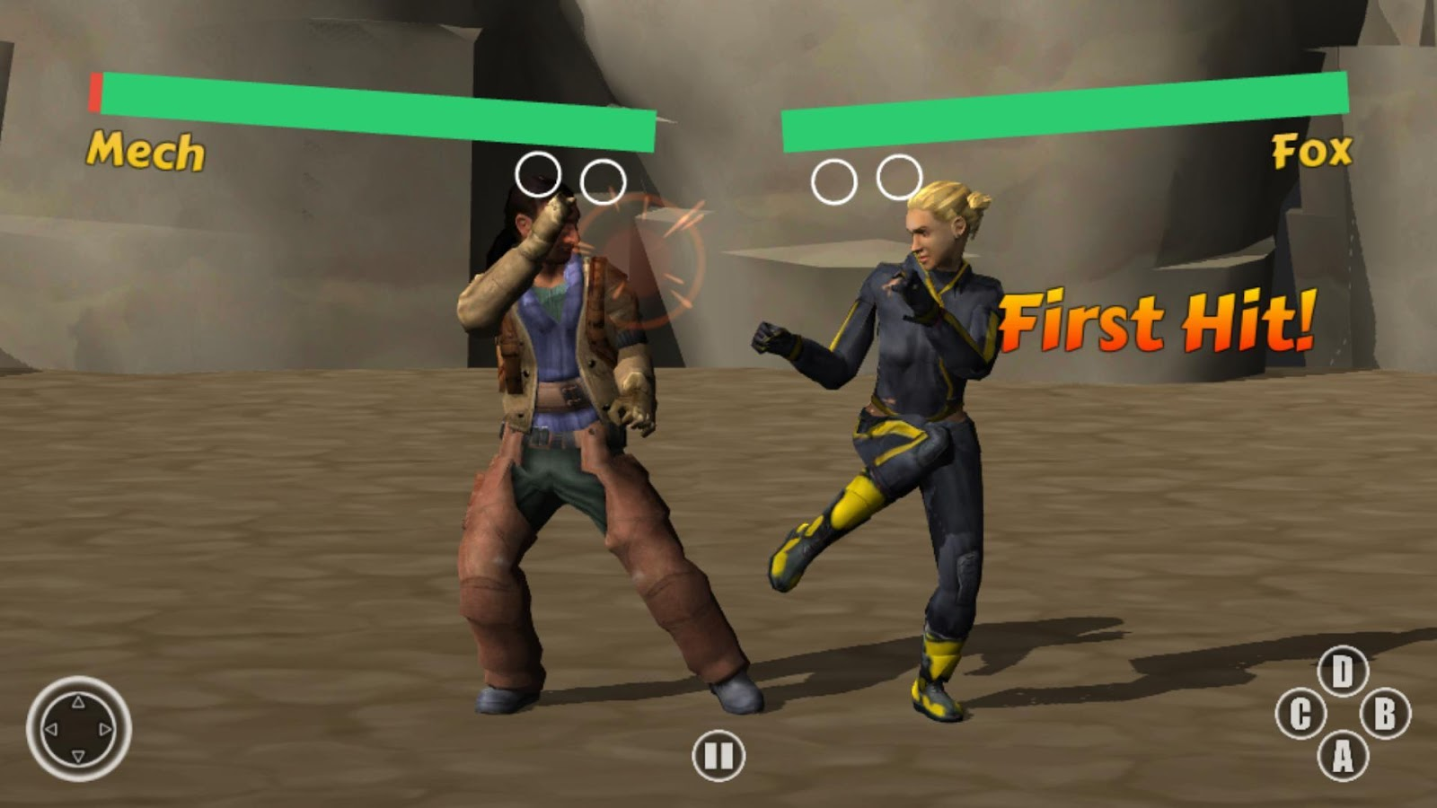 Deadly Street Fight 3D- screenshot