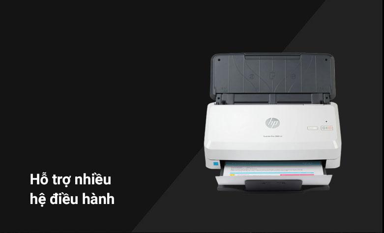 Máy quét/ Scanner HP 2000 S2 (6FW06A) | Hỗ trợ nhiều hệ điều hành