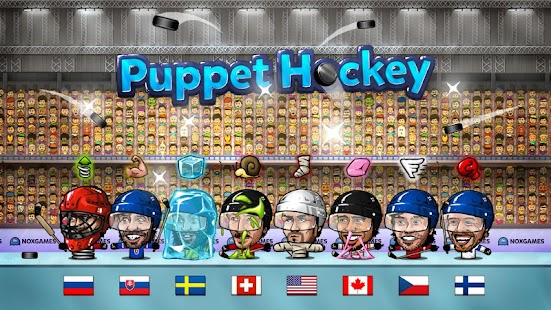 Puppet Ice Hockey: Pond Head- screenshot thumbnail