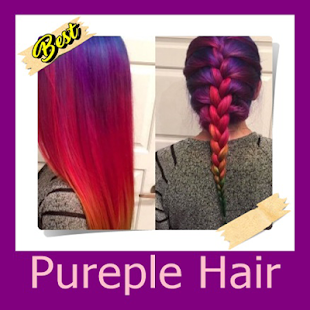Pureple Hair - náhled