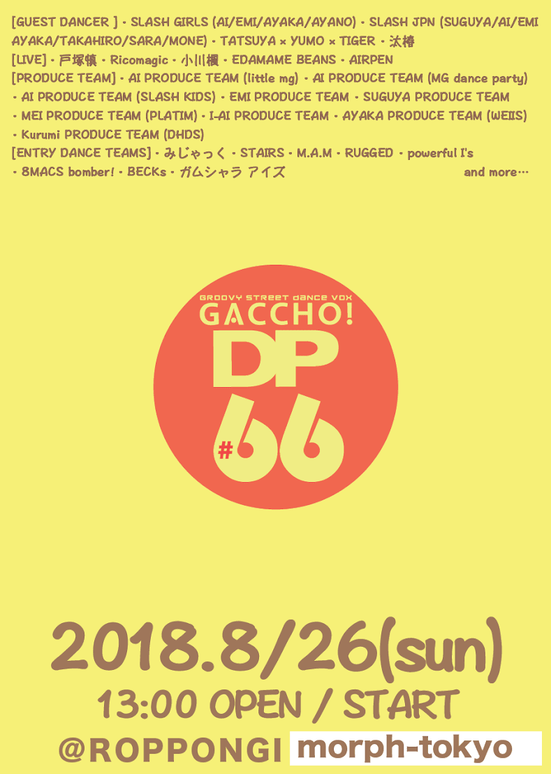 GACCHO! DP #66