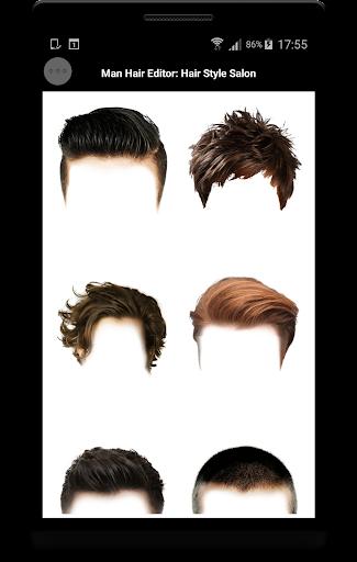 Man Hair Editor : Hair Style Photo Maker  screenshots 1