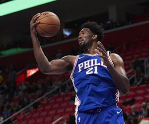 Utah Jazz weet opnieuw wat verliezen is, zeer straffe double-double van Joel Embiid bij de Philadelphia 76ers