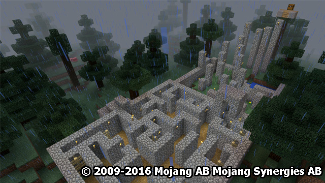 Simple: Lost Temple MCPE map - screenshot