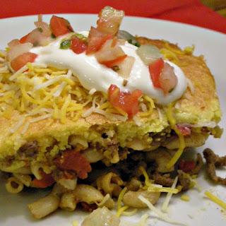 Easy Taco Pasta Casserole