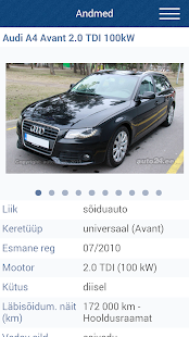 Auto24.ee- screenshot thumbnail