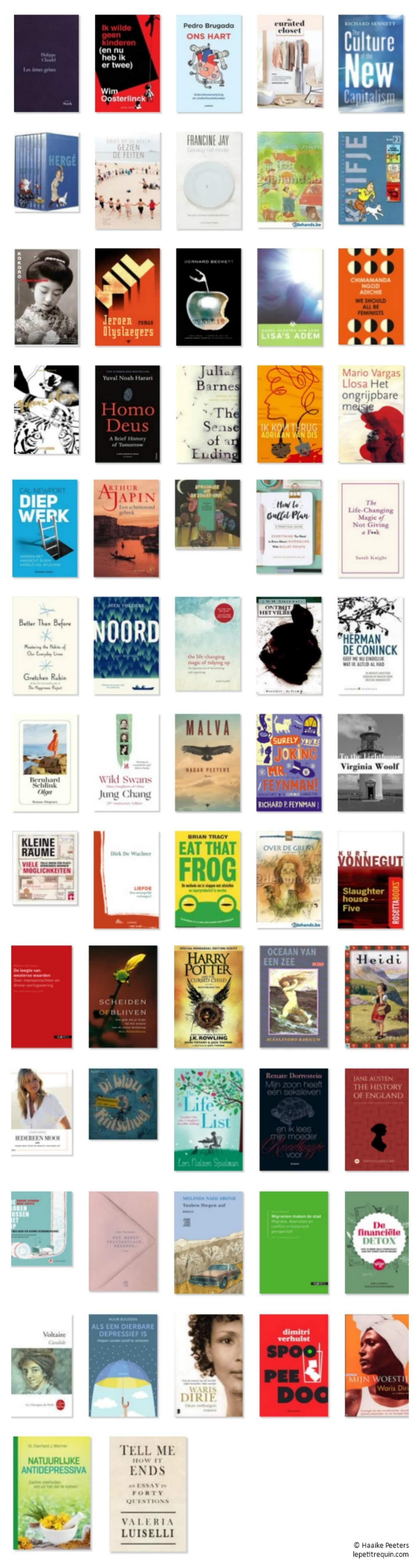 Boeken 2018 (Le petit requin)