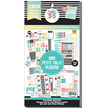 Me & My Big Ideas Happy Planner Sticker Value Pack - MINI Work It Out