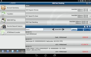Screenshot of CCF Mobile Money - Tablet