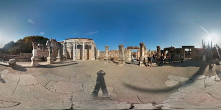 Photo: Capernaum (2 of 2) - inside the ruins of an old church