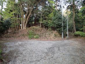 舗装路終点