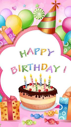 Happy Birthday Live Wallpaper screenshot 2