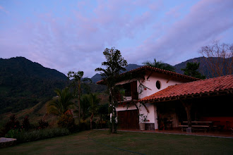 Photo: The Finca at sunrise.