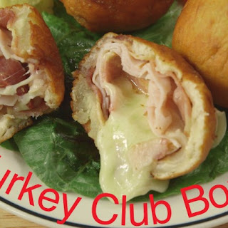 Bacon Turkey Club Bombs