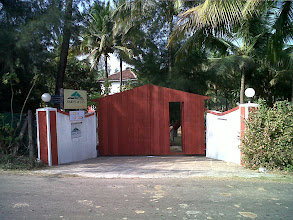 Photo: ENTERANCE  OF SARVE HUTS