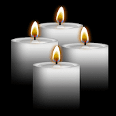 White Candles Live Wallpaper